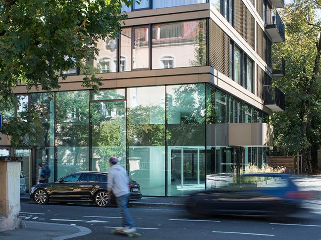 Stadthaus m11 for Innenarchitektur studium innsbruck